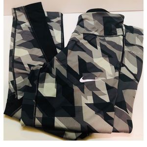 Nike Dri-Fit Geometric Print Leggings